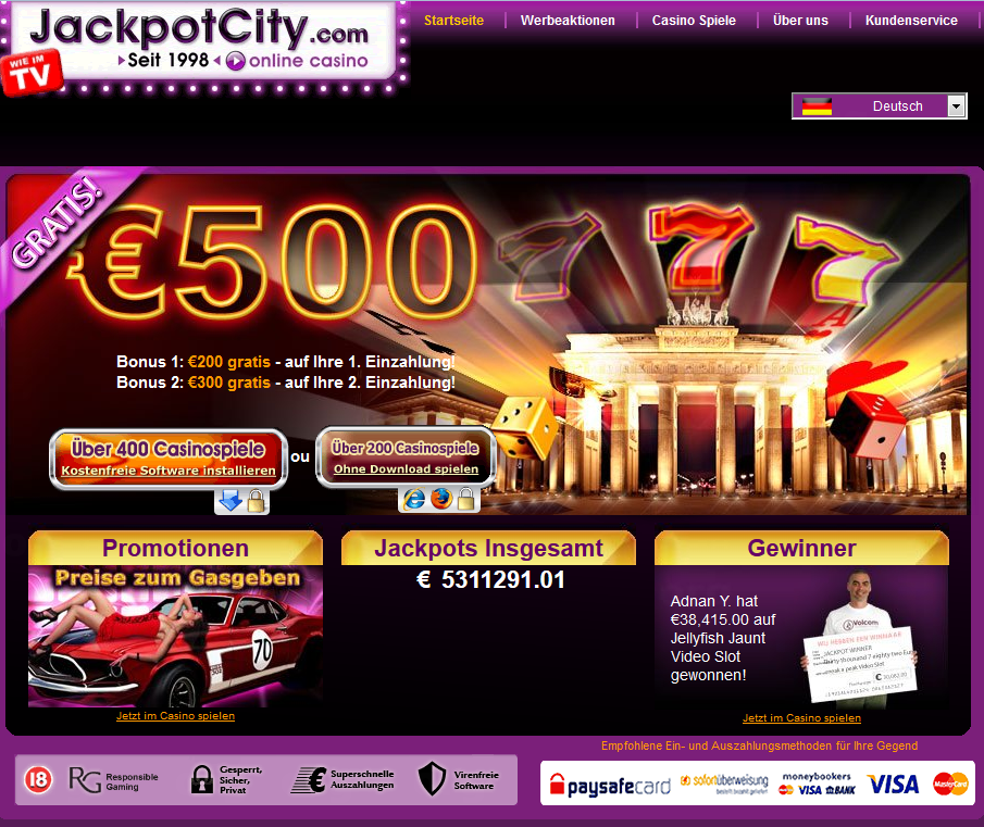 Unsere Regeln Jackpotcity - 32218