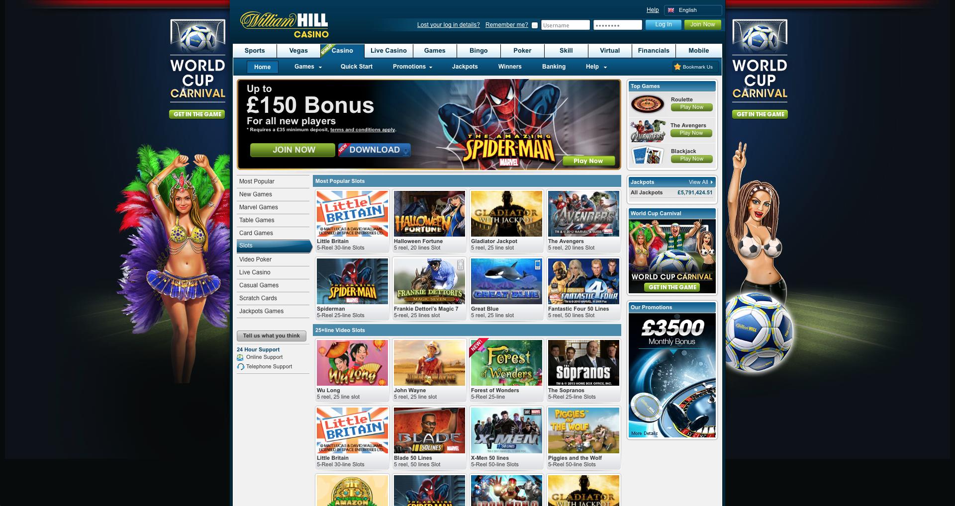 Slot Promotion Code William - 97605