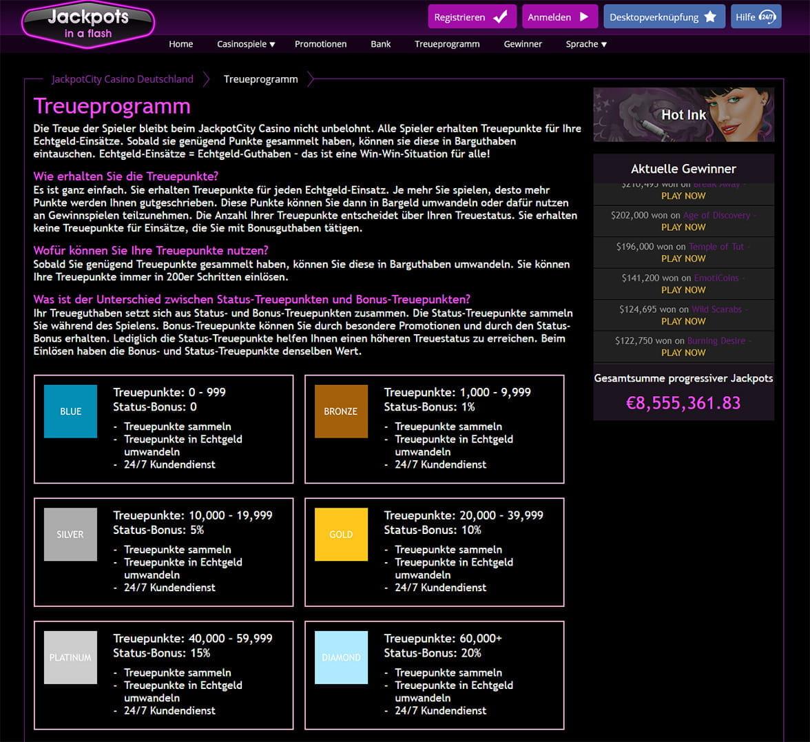 Empfehlung online Casino - 74129