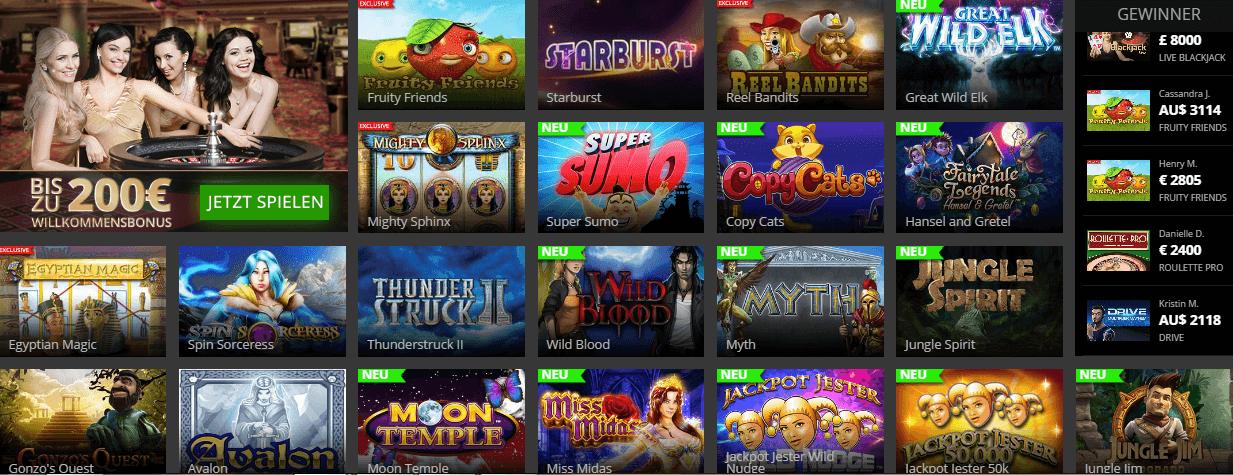 Zugelassene online Casinos - 71070