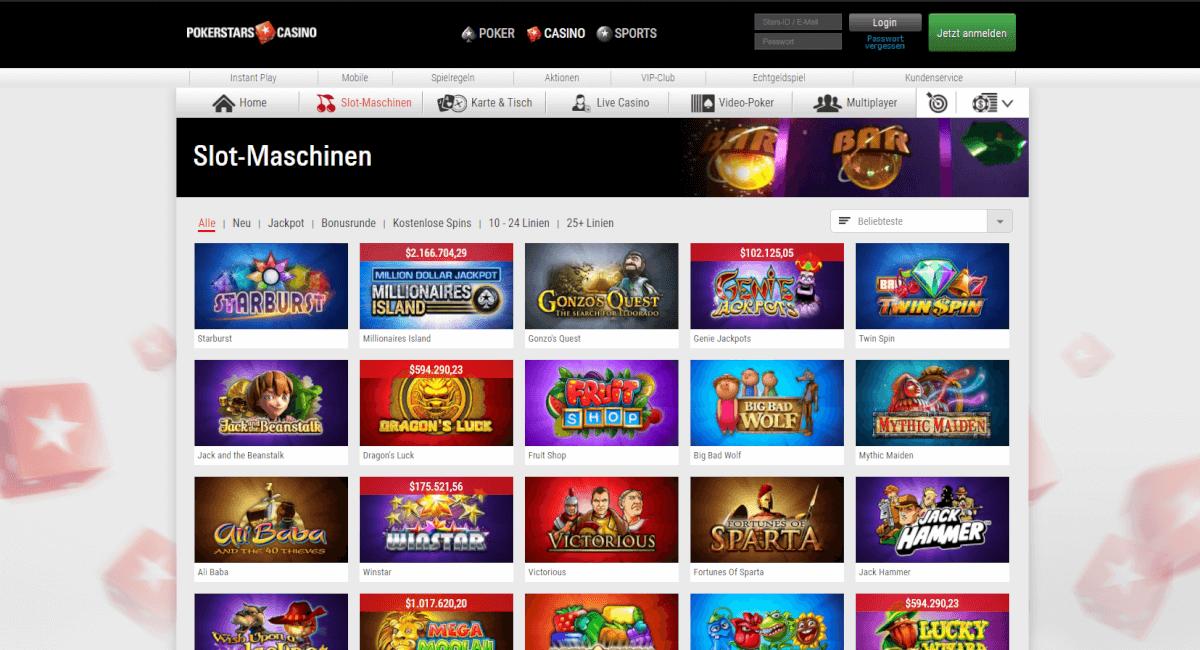 Pokerstars Casino - 13832