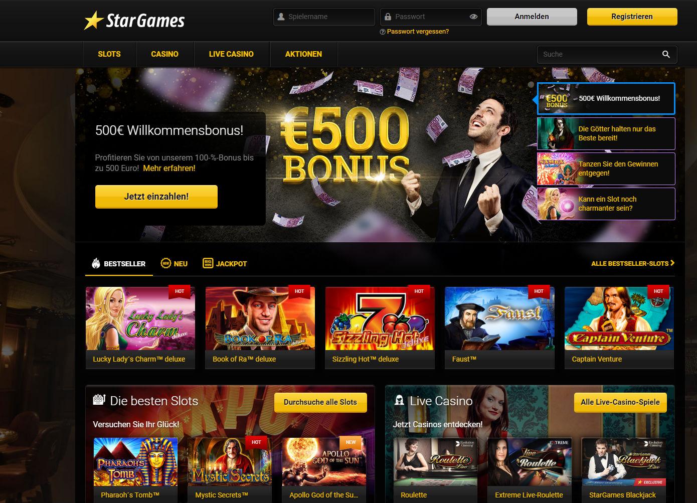 Echtgeld Casino mit Auszahlung - 88446