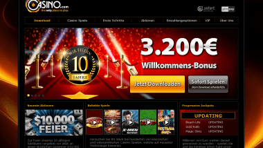 Casino Login feiert - 92157