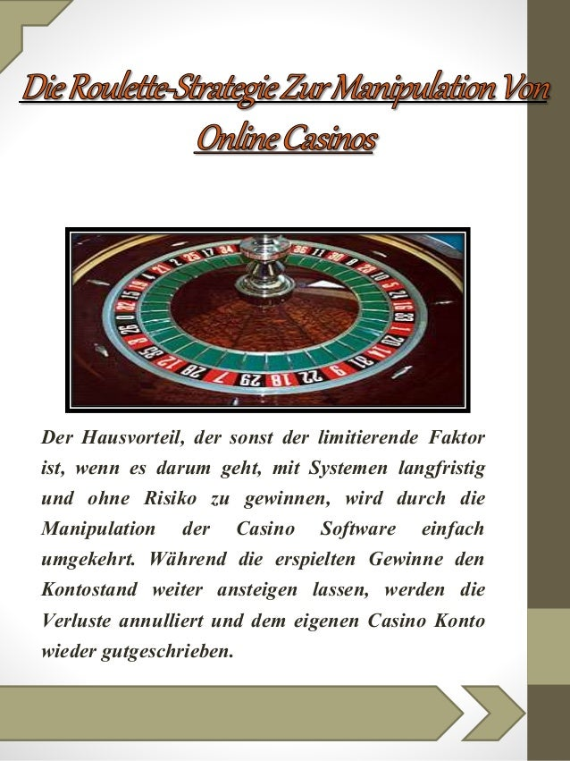 Roulette Strategie pdf - 57824
