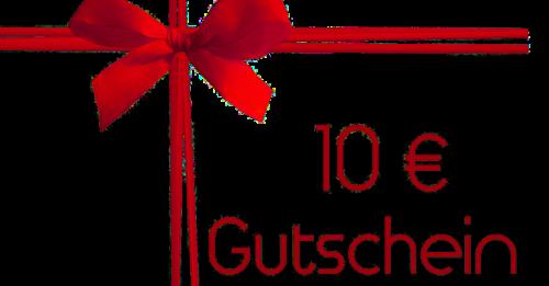 10 euro Gutschein - 11928