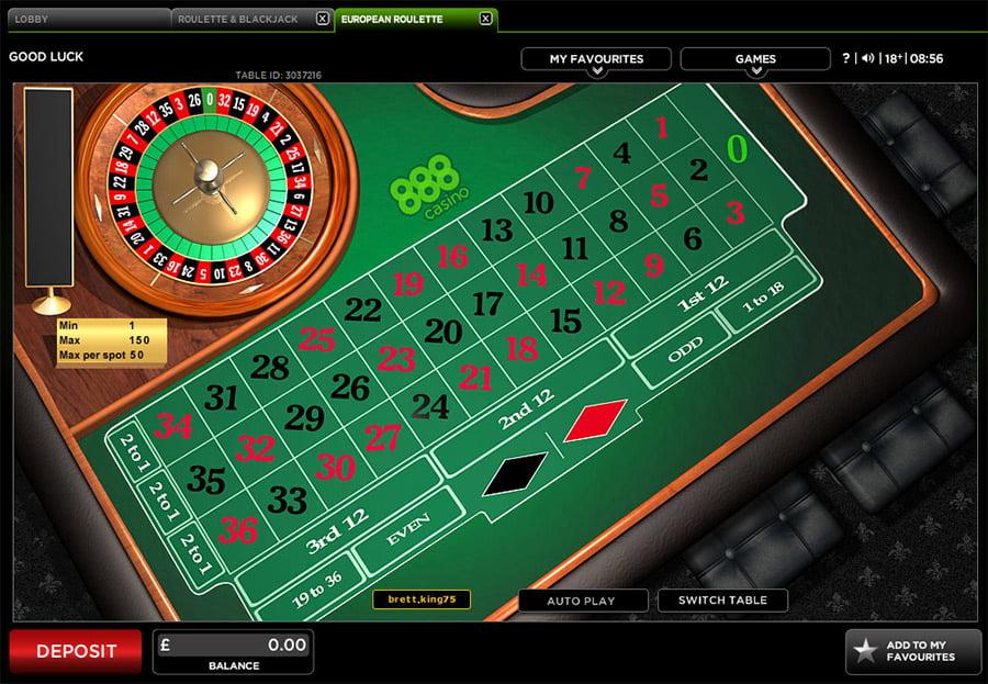 Roulette Tisch - 68946