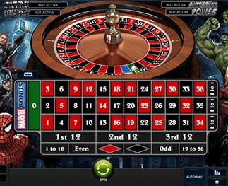 Spiele Auswahl NewAR Roulette - 37619