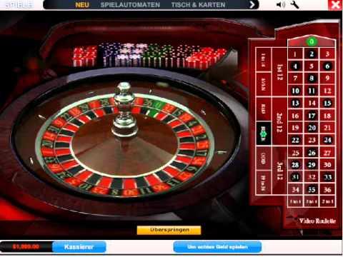 Roulette Tisch - 60182