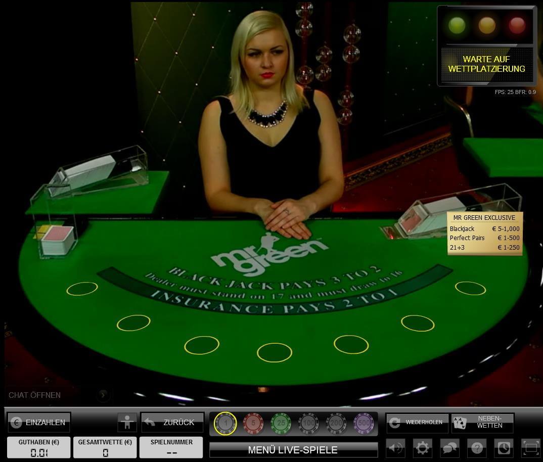 Live Dealer bei Casino - 52243