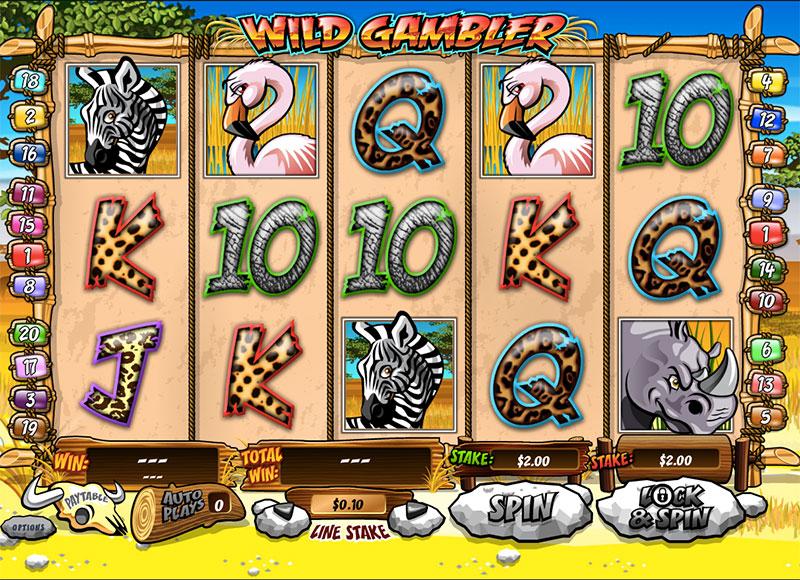 Wild Gambler free - 31795