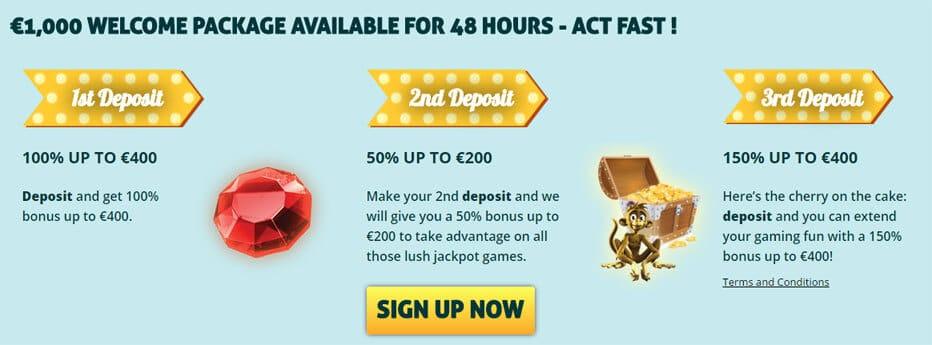 Secret Casino Bonus - 43107