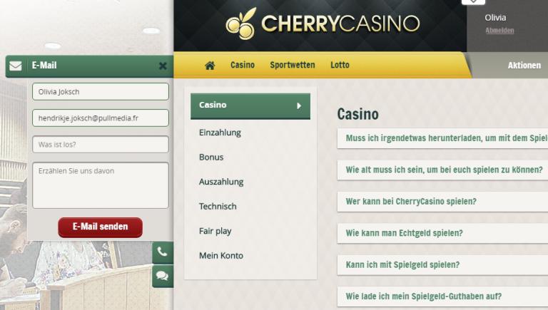 Echte Erfahrungen Cherry Casino - 55581