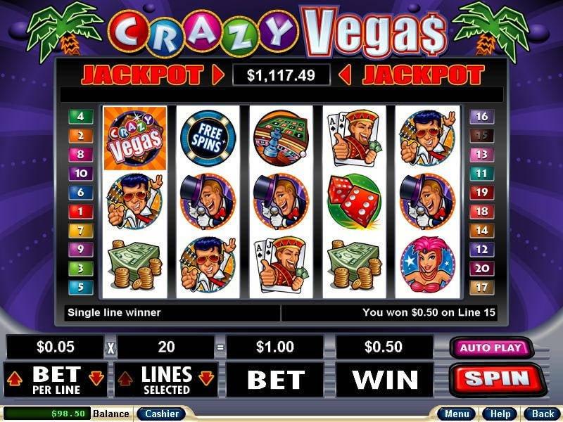 Kalender Freispiele Crazy Vegas - 54471