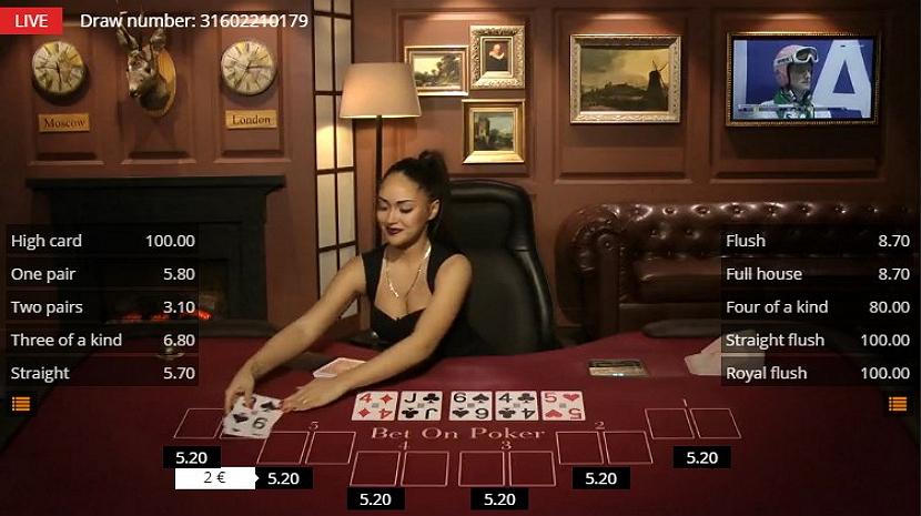 Bet Einzahlungslimit Poker - 20282