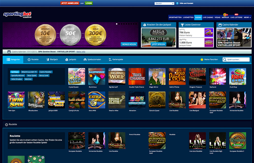 Bonus Sportingbet Casino CasinoFantasia - 20538