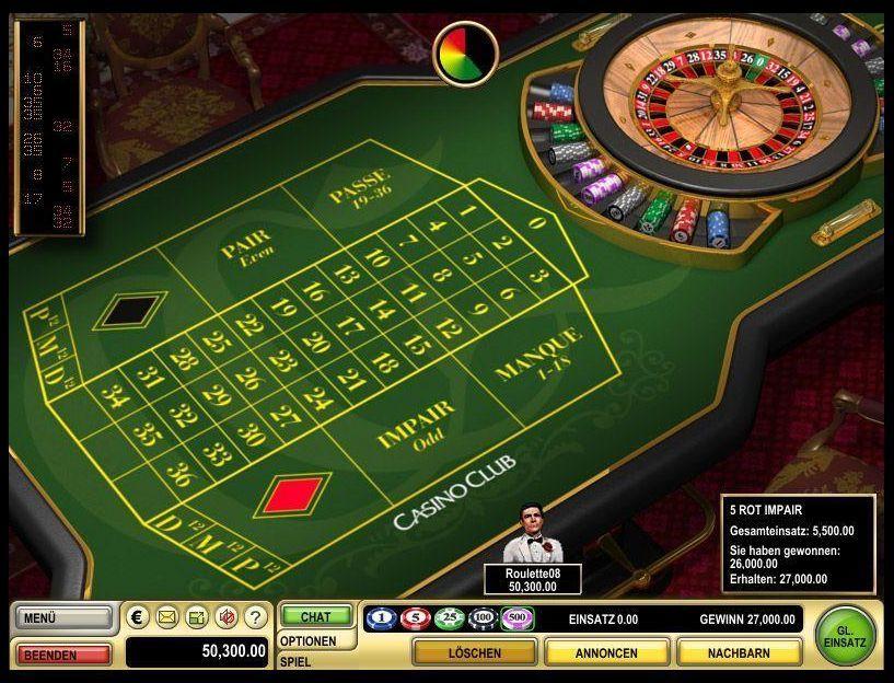 Casino Club Roulette - 81780