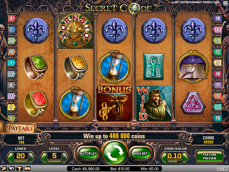 Secret Casino Bonus - 10861
