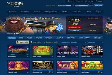 Casino Spiele aus - 4124