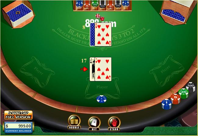 Black Jack Tabelle - 70822