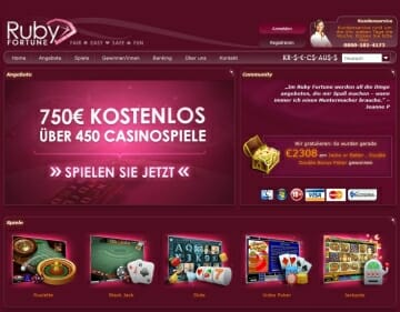 Online Casino Ruby Fortune - 35348