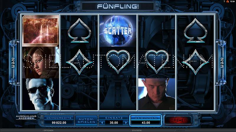 Online Casino Gewinne Terminator - 86101