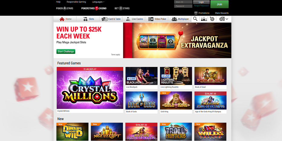 Pokerstars Casino download - 7305