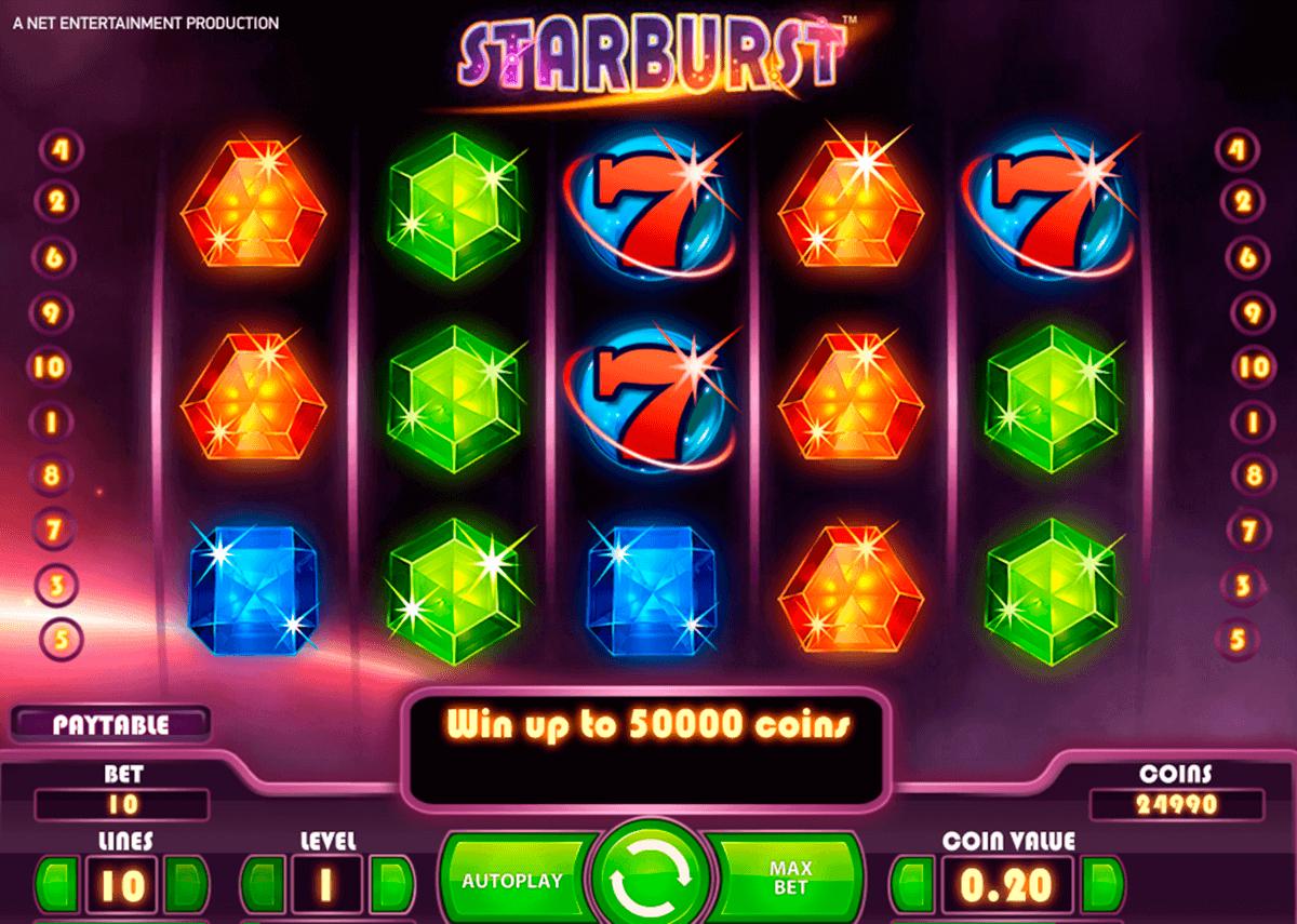 Starburst Freispiele Roulette von - 5072