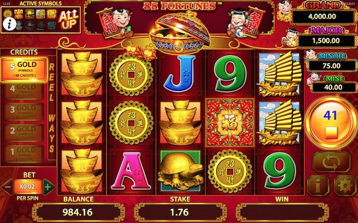 Auszahlungsquote Spielautomaten GrandFortune Casino - 29886