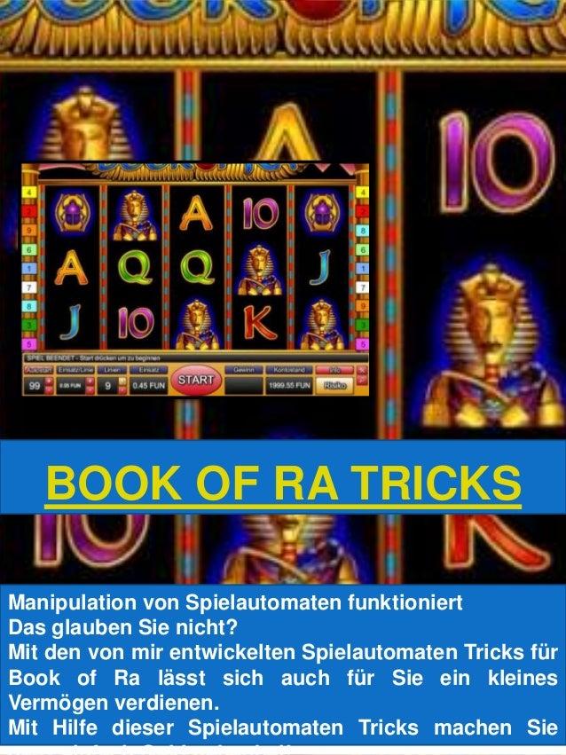 Spielautomaten Tricks Book - 7903