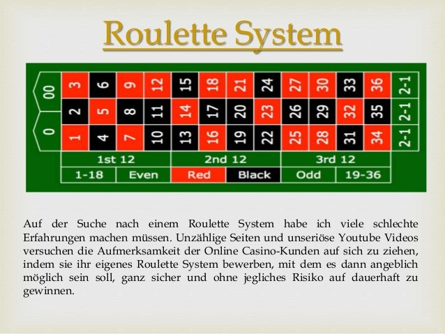 Roulett Trick Funktioniert Auszahlung - 56796