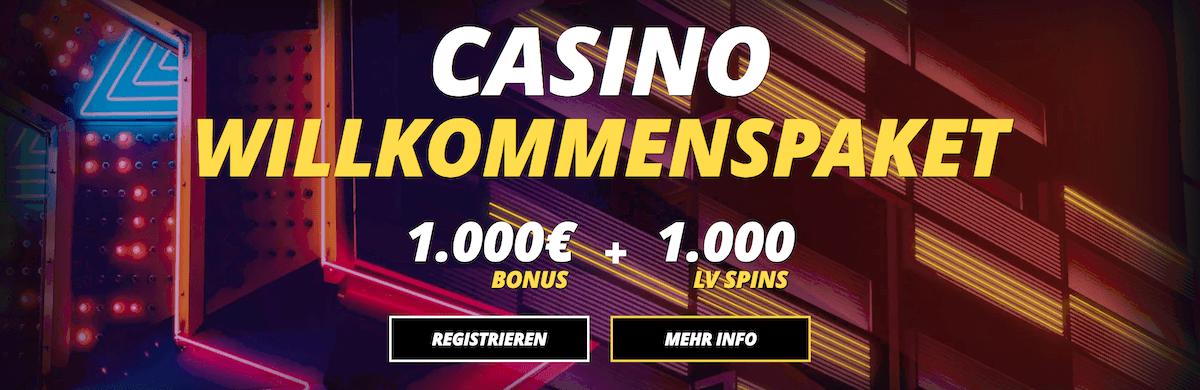 Casino 20 free Spins - 93356