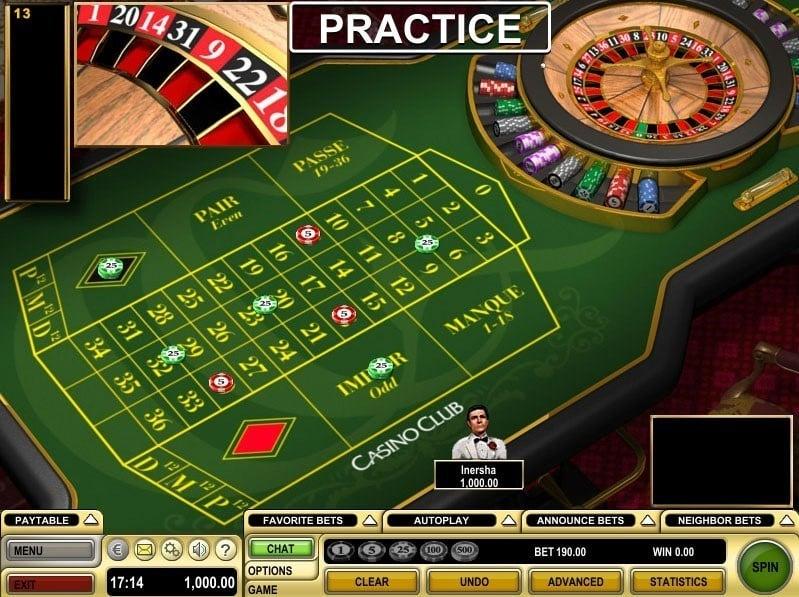 Roulette Spiel mit gutem - 34577
