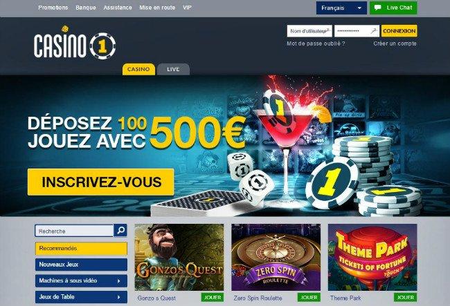 Casino Testbericht Casino1 - 95628
