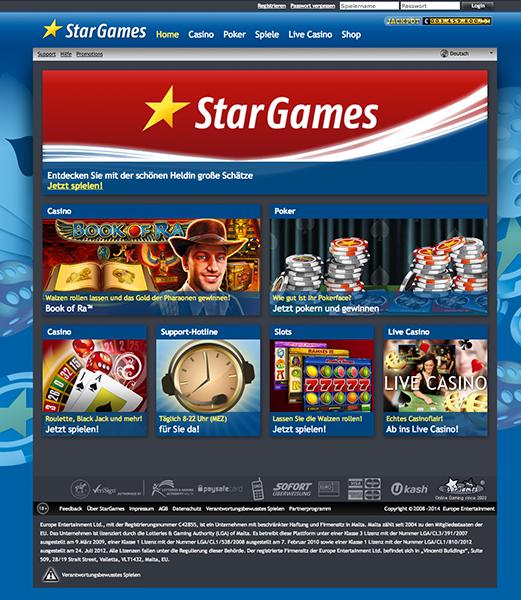 Bonus bei stargames - 91101