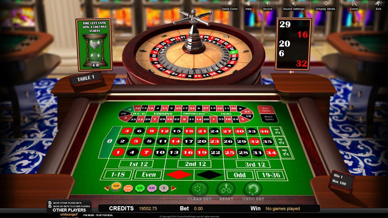 Roulette Spielanleitung - 93833