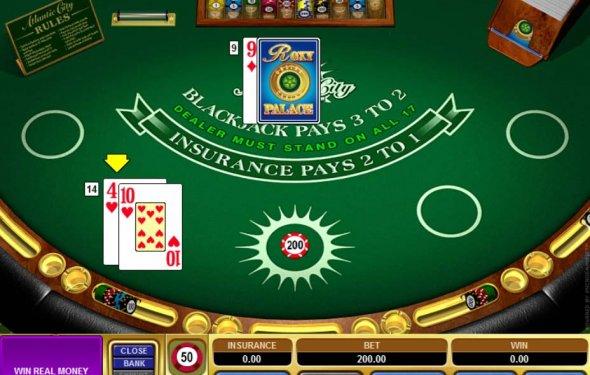 Atlantic City Blackjack online - 83527