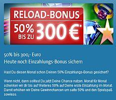 Reload Bonus Topaze Casino - 44775