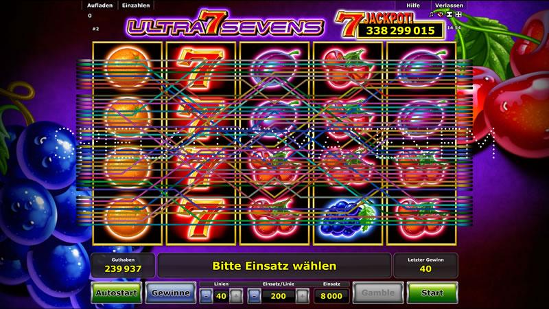 Ultra Sevens - 92548