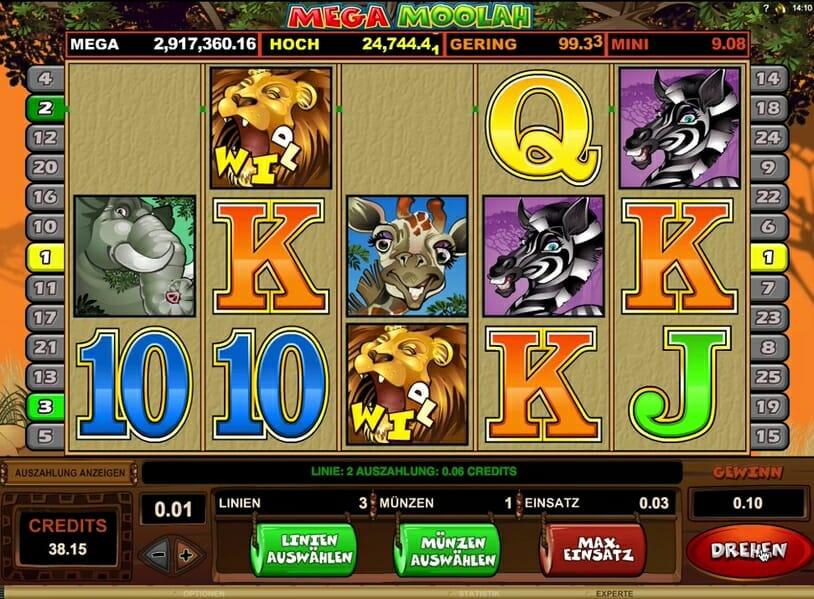 Löwen Lucky Unicorn kostenlos - 80788