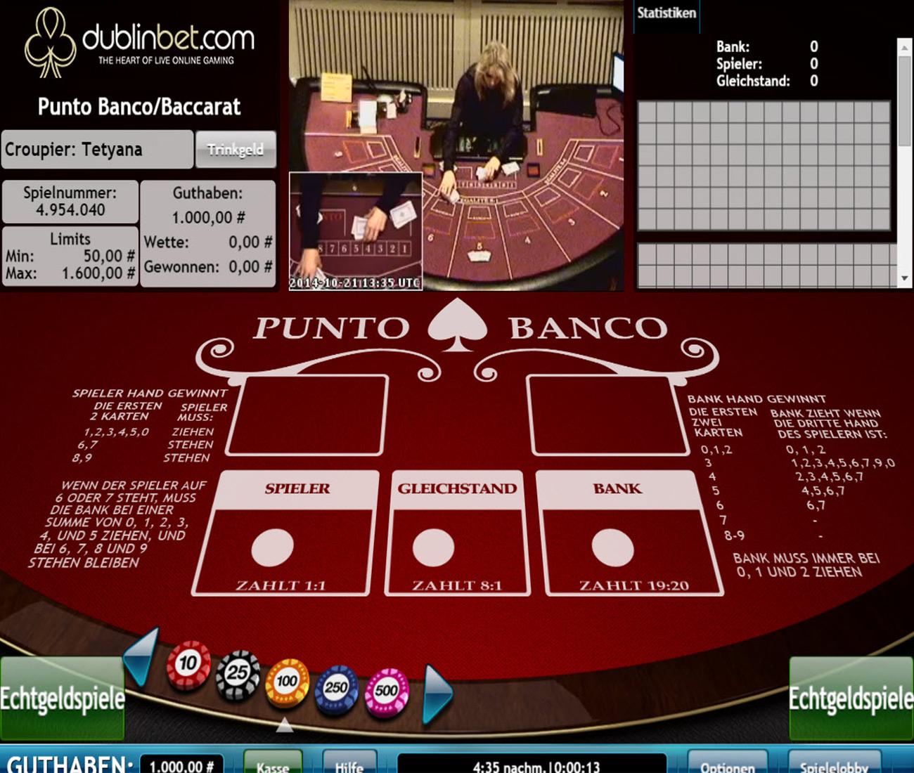 Online Casino Blackjack Live - 65000