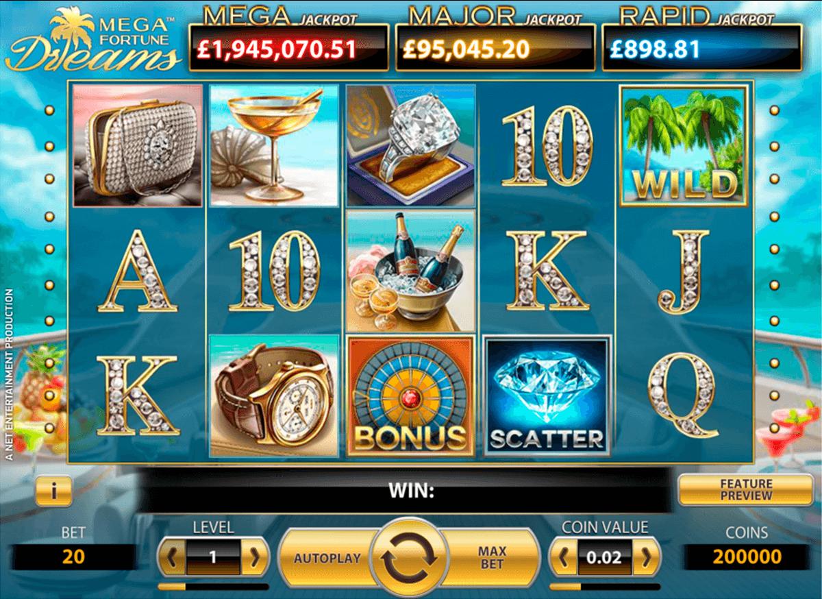 Mega Fortune Dreams LetsBet - 28143