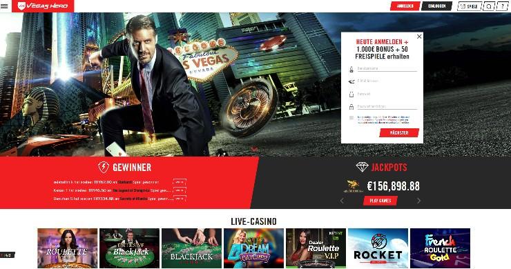 Seriöse online Casino Vegas - 27182