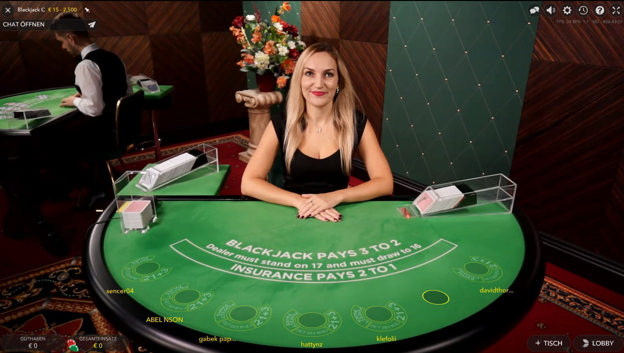 Live Roulette in - 34899