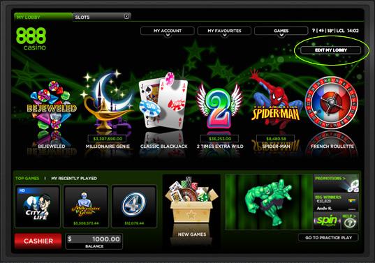 Hedging beim Casino 888 - 48469