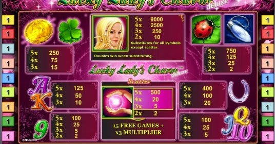 Lucky Lady Charm - 20123