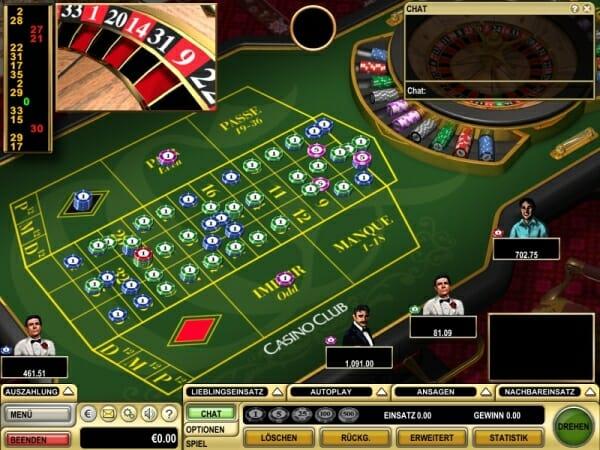 Roulette ohne Tischlimit - 84894