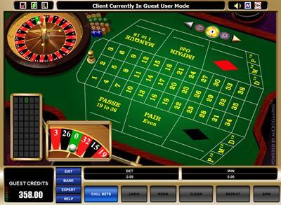 Roulette Systeme langes - 56942