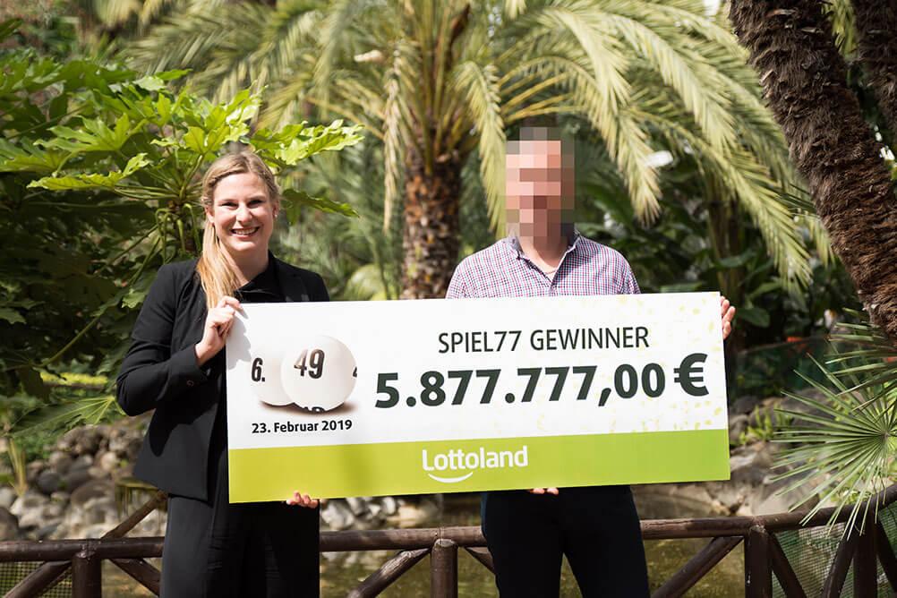 Glück im Lotto - 2017