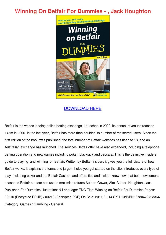Poker For Dummies - 65897