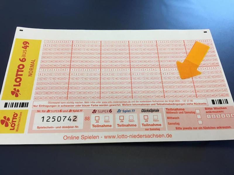 Steuerberater Lottogewinn - 96384